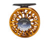 Abel SDF 4/5 Satin Orange Custom Fly Reel